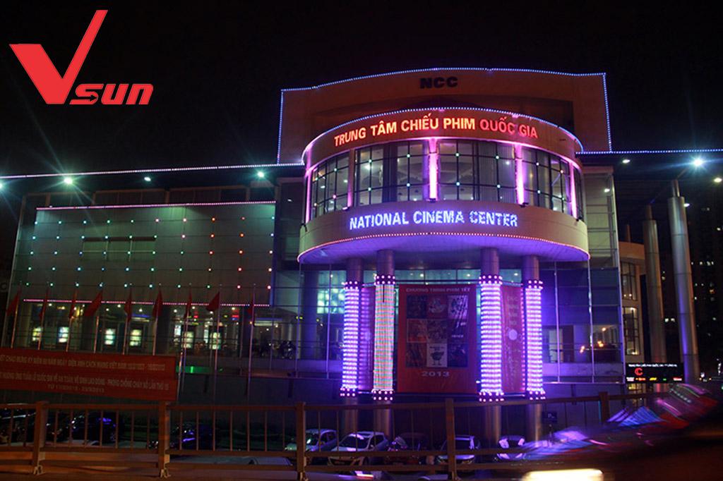 VSun và Trung tâm chiếu phim Quốc gia